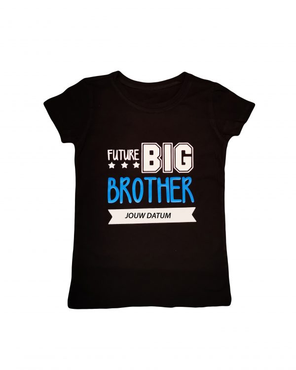 Future Big Brother t-shirt met datum