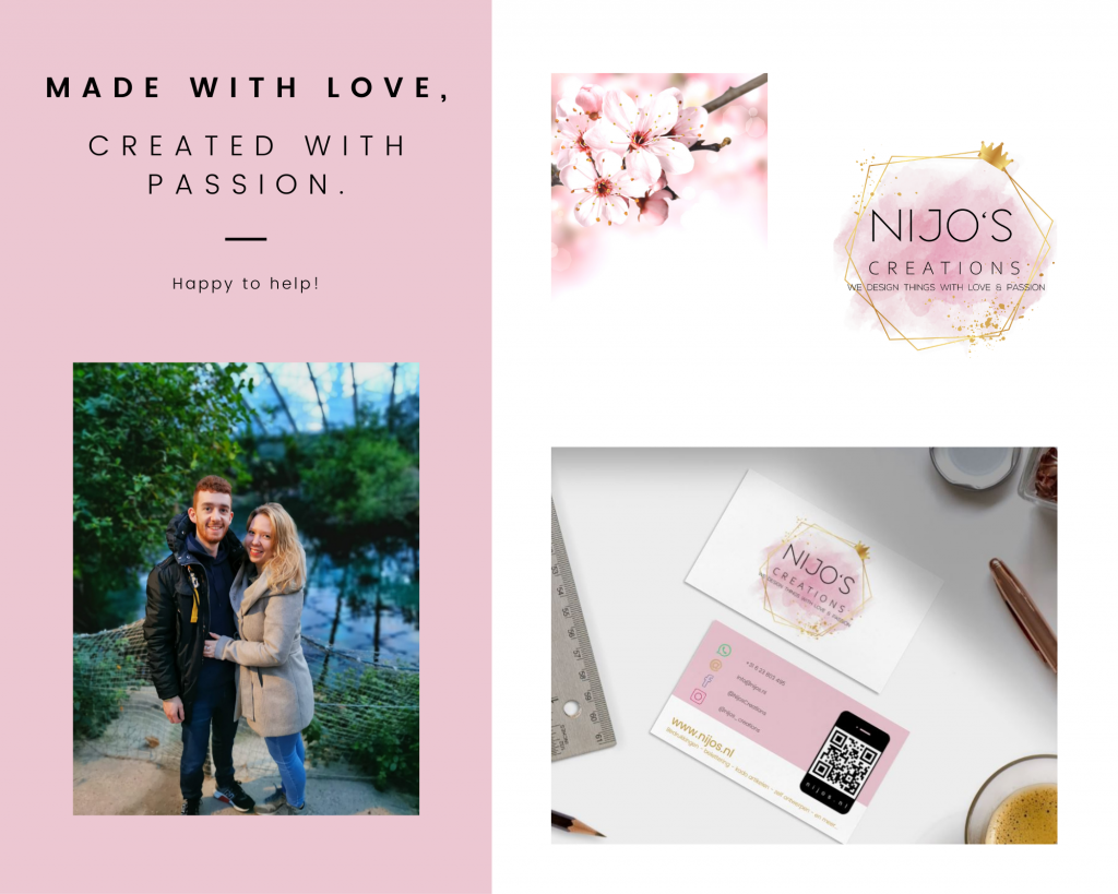 Nijos.nl Over Ons | made with love, created with passion. Happy to help