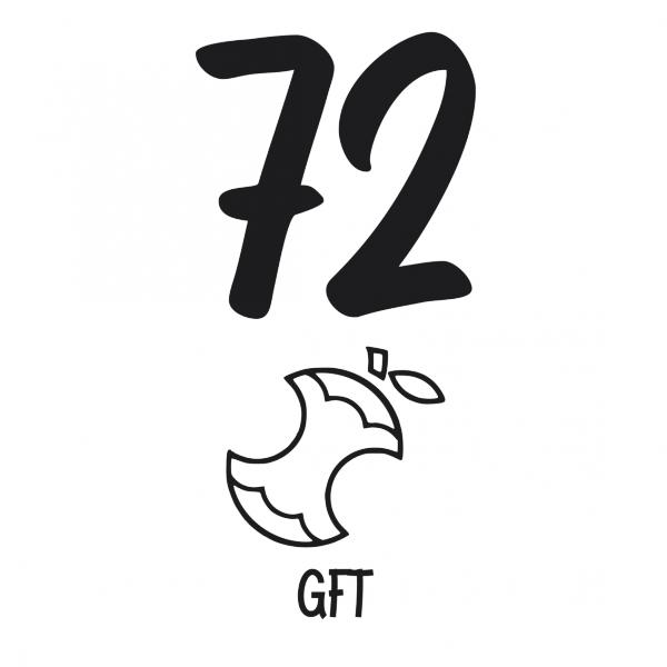 GFT kliko huisnummer sticker