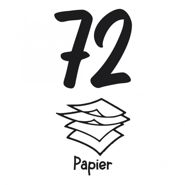 Papier kliko huisnummer sticker